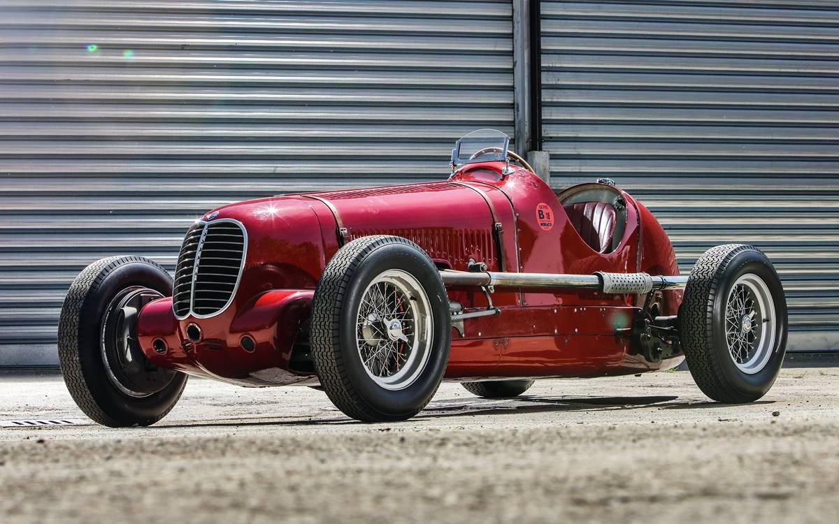 Maserati Tipo 6CM: El auto que brillo en la Targa Florio