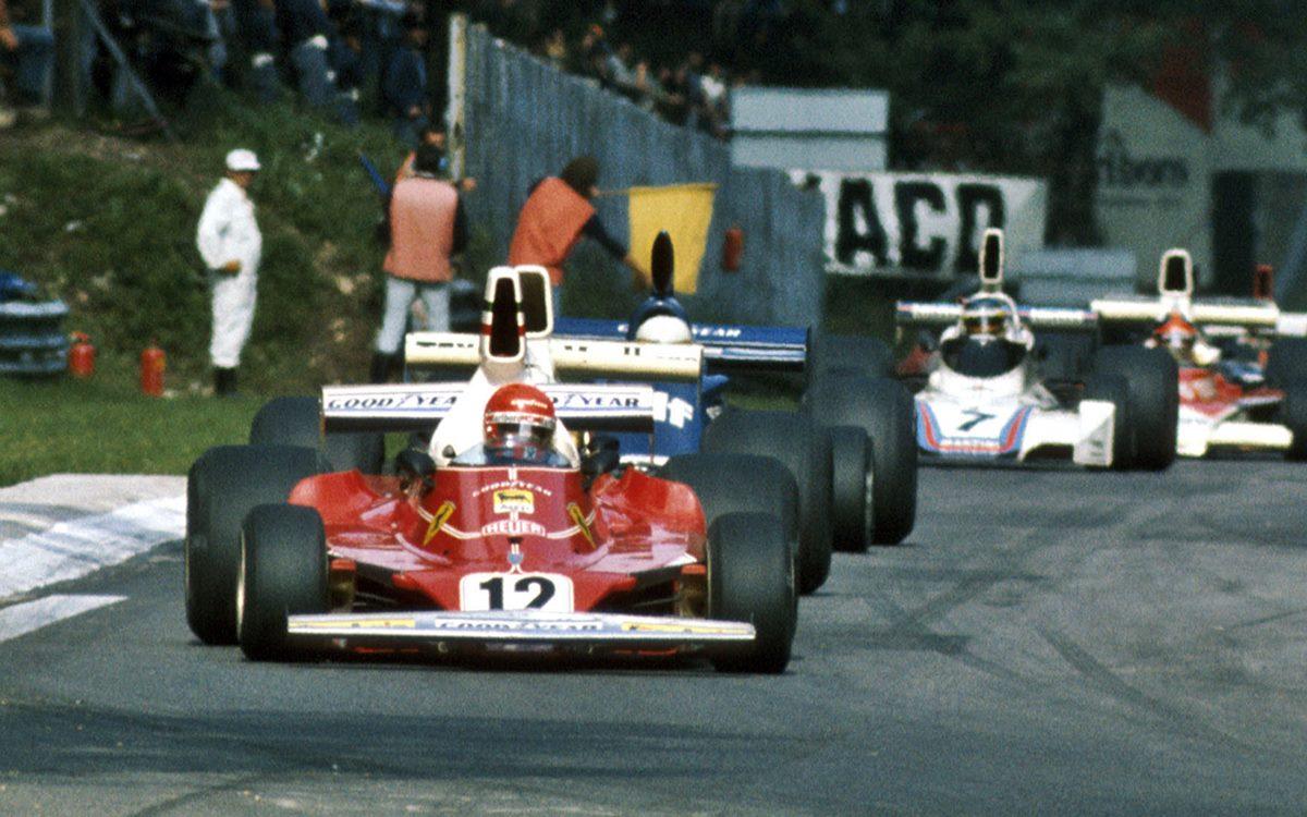 Niki Lauda: Una campaña llena de estrellas