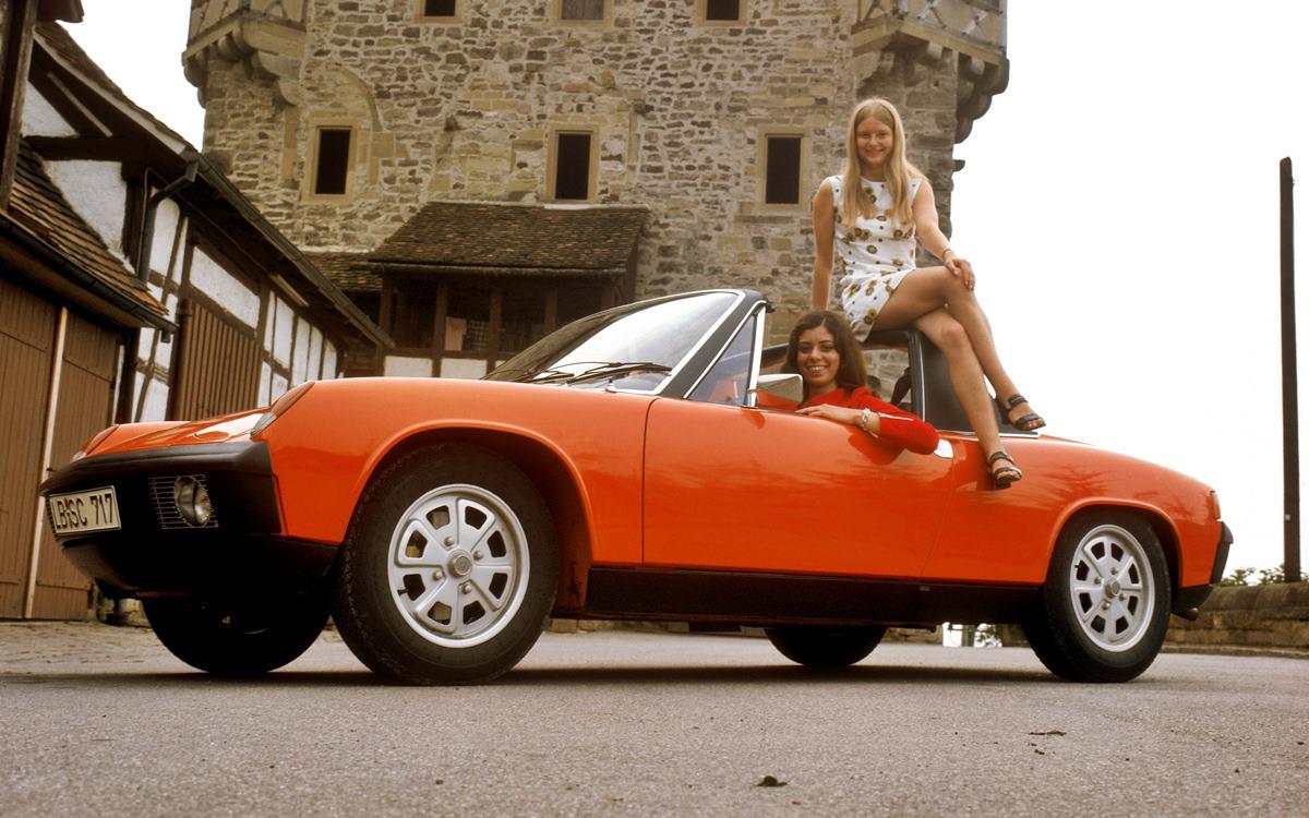 Porsche 914: El deportivo que nació para los jóvenes