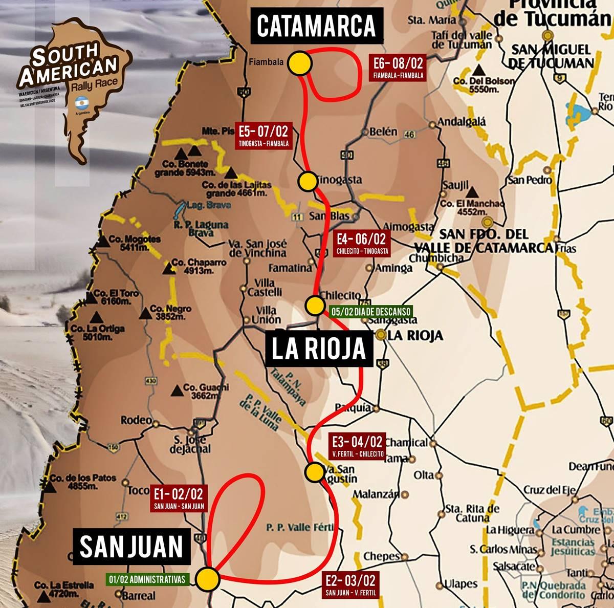 ¡En tu cara Dakar! Se viene el South American Rally Race