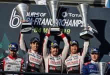 Photo of Alonso, Buemi y Nakajima al tiro del título del WEC tras una carrera que tuvo hasta nieve