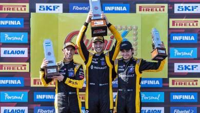 Renault copó el podio del Súper TC2000 en Rosario