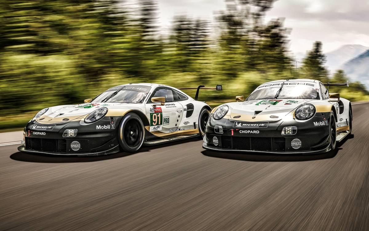 24 Horas de Le Mans: Porsche con decoración especial