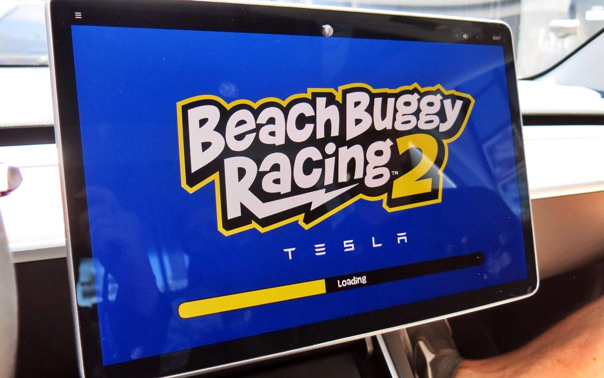 Los Tesla se convierten en consolas de videojuegos