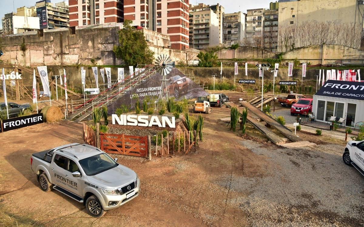 La Nissan Frontier dice presente en La Rural de Palermo