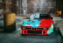 Photo of El BMW M1 Art Car de Andy Warhol
