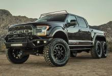 Photo of Hennessey Goliath 6×6: Una Chevrolet Silverado llevada al extremo