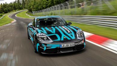 Photo of El Porsche Taycan dejó su sello en Nürburgring