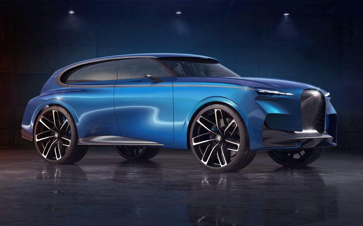 Spartacus Concept: Así podría lucir un SUV fabricado por Bugatti