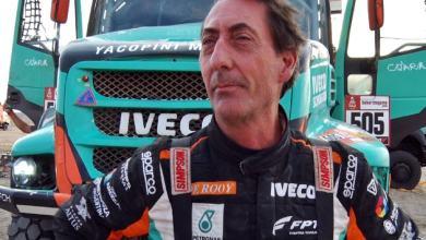 Photo of Federico Villagra baja del Dakar 2020