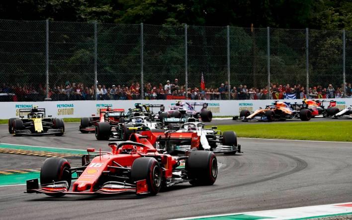 La fiesta de Ferrari en Monza