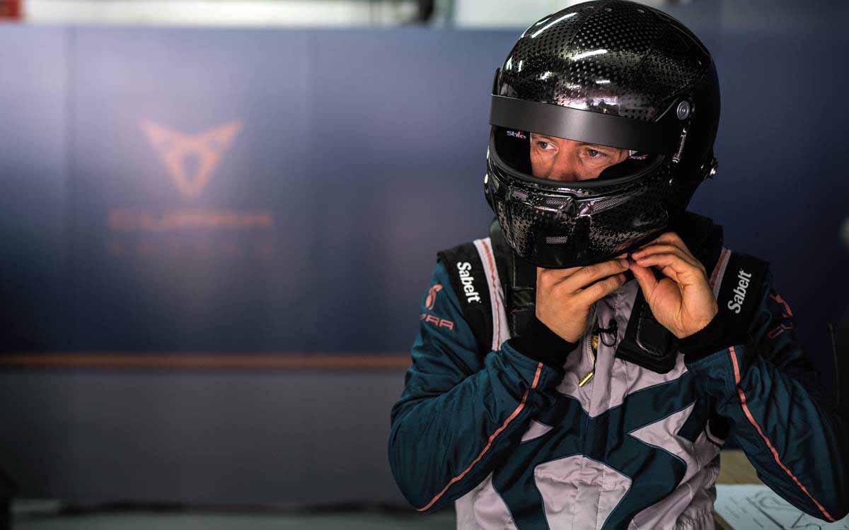 Mattias Ekström quiere hacer ganar al CUPRA e-Racer