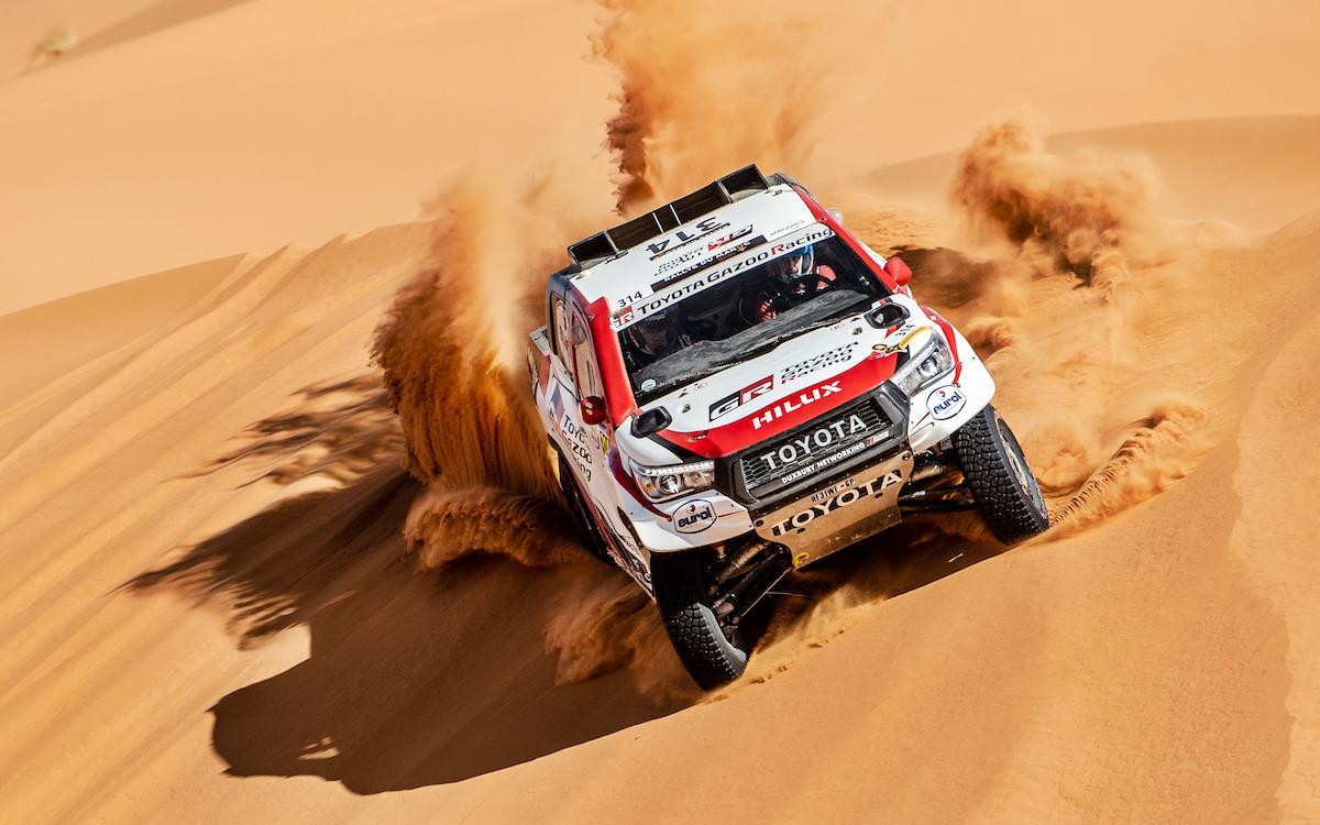 Rally de Marruecos: Fernando Alonso en problemas