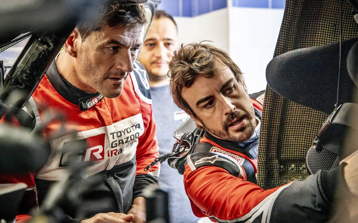 Marc Coma y Fernando Alonso
