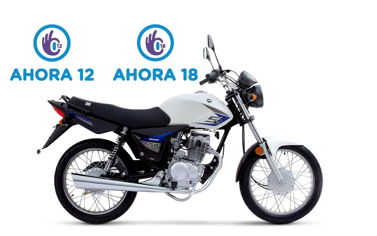 Programa Ahora 12 y Ahora 18: Sigue en octubre para la comprar motos