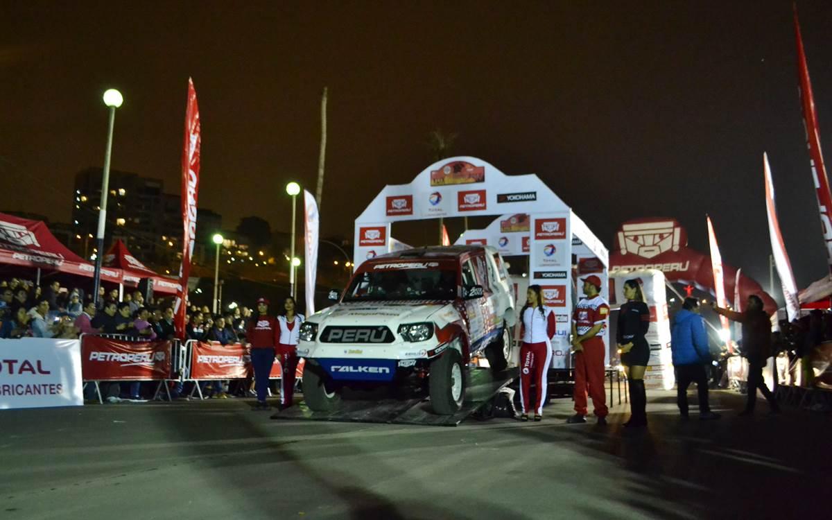 El Rally Caminos del Inca encendió motores