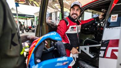 Photo of Fernando Alonso subió al podio en el Ula Neom Rally de Arabia Saudita