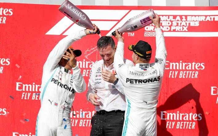 GP de Estados Unidos 2019 - Lewis Hamilton