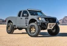 Photo of Nissan Frontier Desert Runner: Modificación extrema