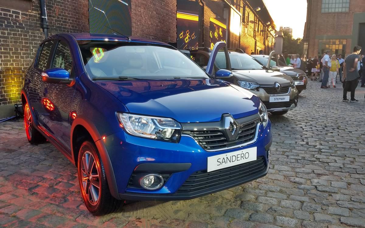 Renault renovó los Stepway, Logan y Sandero
