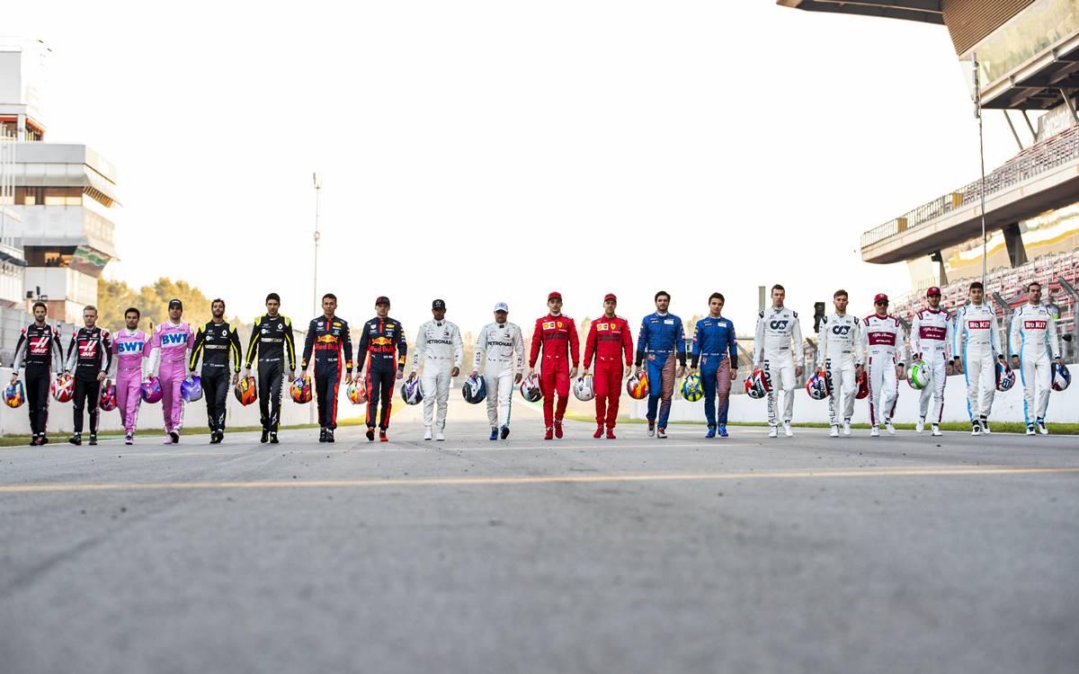 Pilotos Fórmula 1 2020