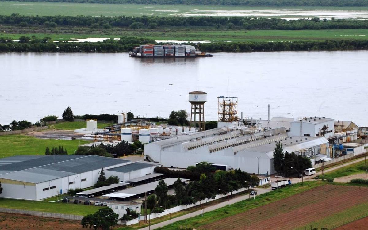 Planta de Unilever en Villa Gobernador Gálvez.