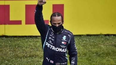 Photo of La historia detrás del saludo de Lewis Hamilton tras ganar el GP de Estiria