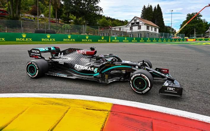 Lewis Hamilton GP Bélgica 2020