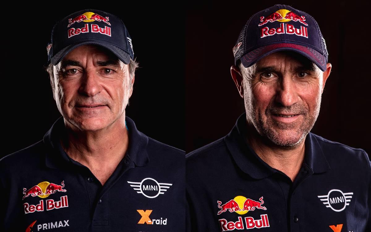 Carlos Sainz y Stéphane Peterhansel