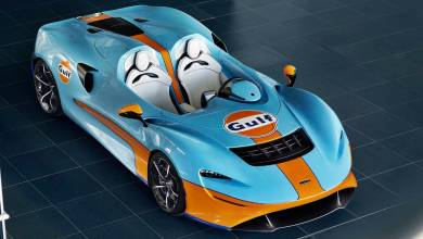 Photo of McLaren Elva: Vestido de Gulf para incrementar sus ventas