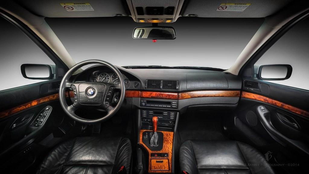 interior bmw e39