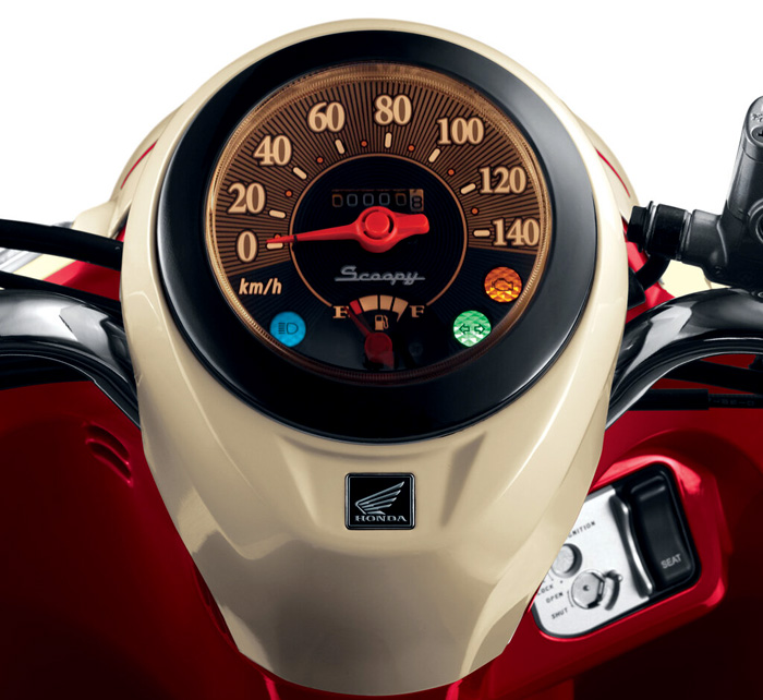 Honda Scoopy FI Speedometer  AutonetMagz  Review Mobil