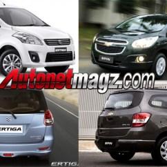 Grand New Veloz Vs Ertiga Kijang Innova V 2014 Komparasi Suzuki Chevrolet Spin Autonetmagz