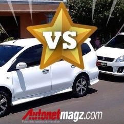 Grand New Avanza Veloz 1.5 2017 Harga Type E 2015 Ertiga Vs Livina | Autos Post
