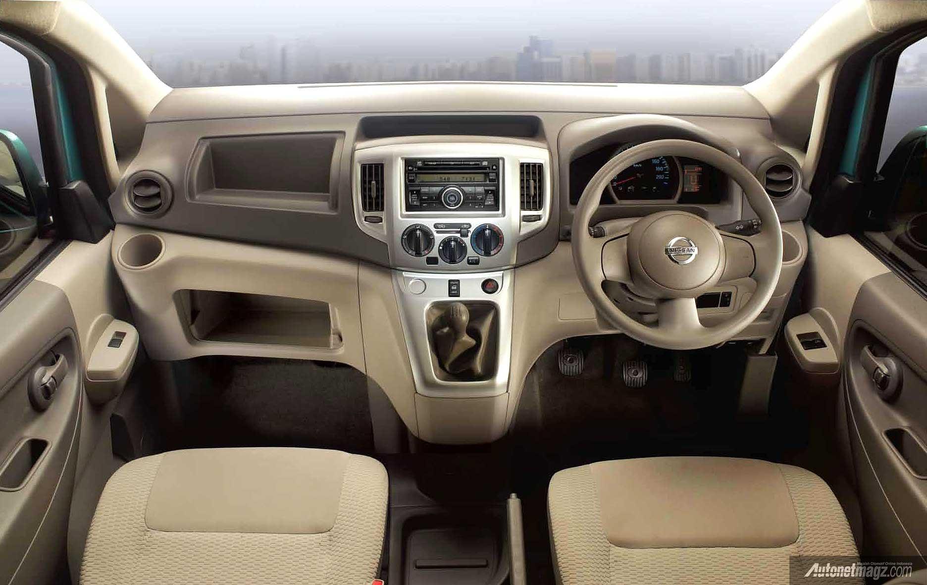 Interior Nissan Evalia 2014  AutonetMagz  Review Mobil
