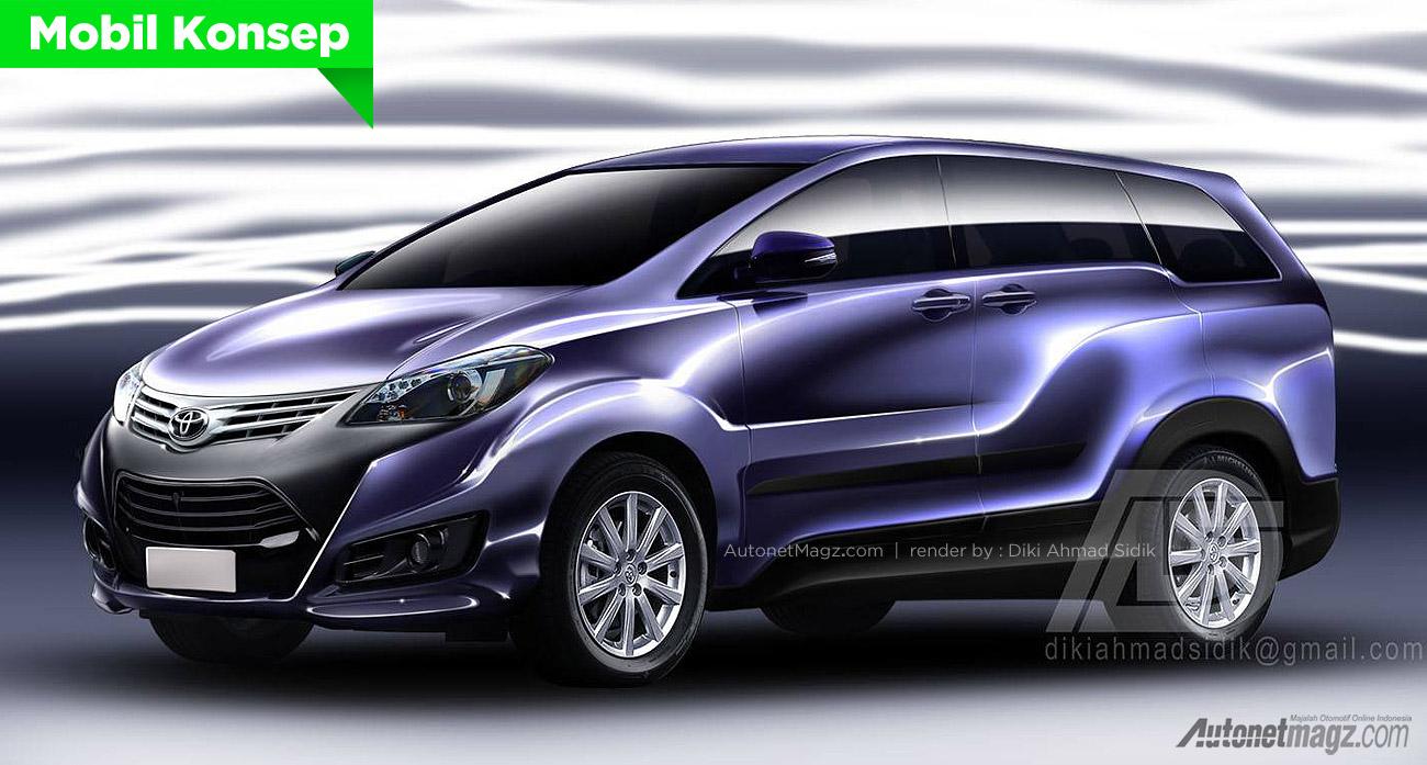 Keren Juga Nih Toyota Avanza Concept 2015  AutonetMagz