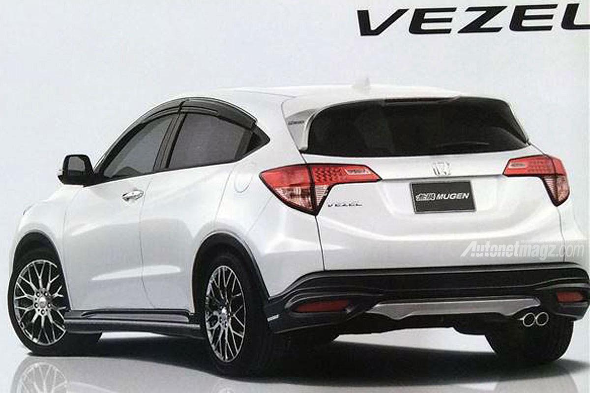 Honda Vezel Mugen version tampak belakang  AutonetMagz