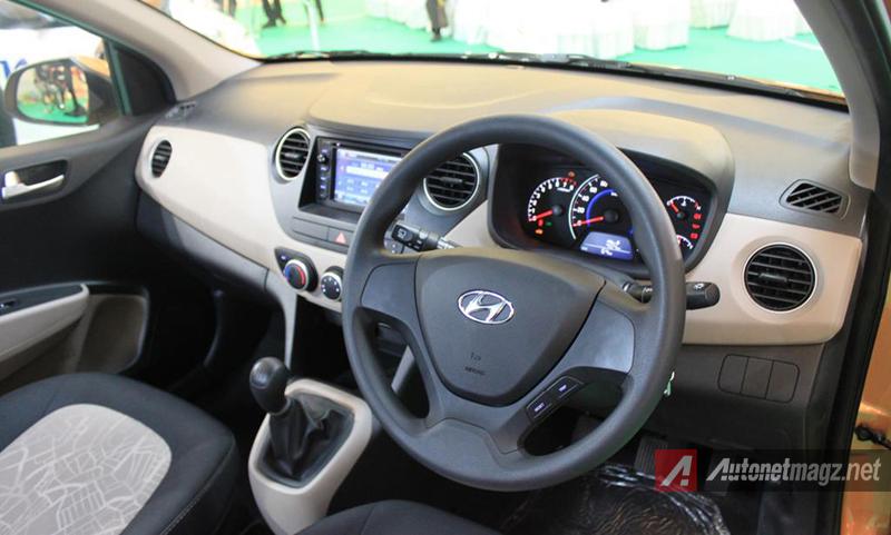 Hyundai Grand i10 dashboard  AutonetMagz  Review Mobil