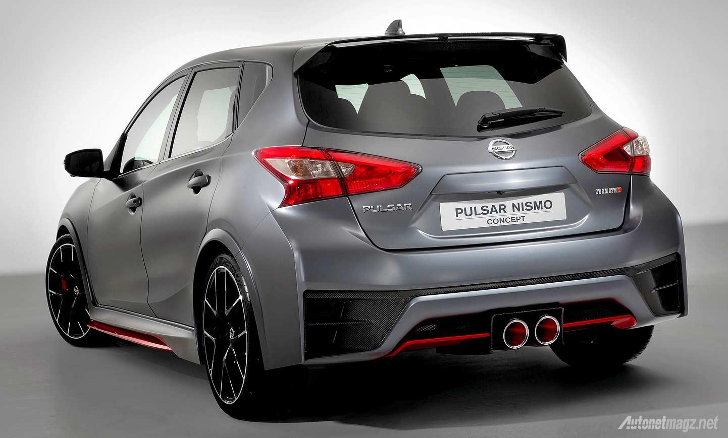 Sport hatchback Nissan Pulsar Nismo concept 2015