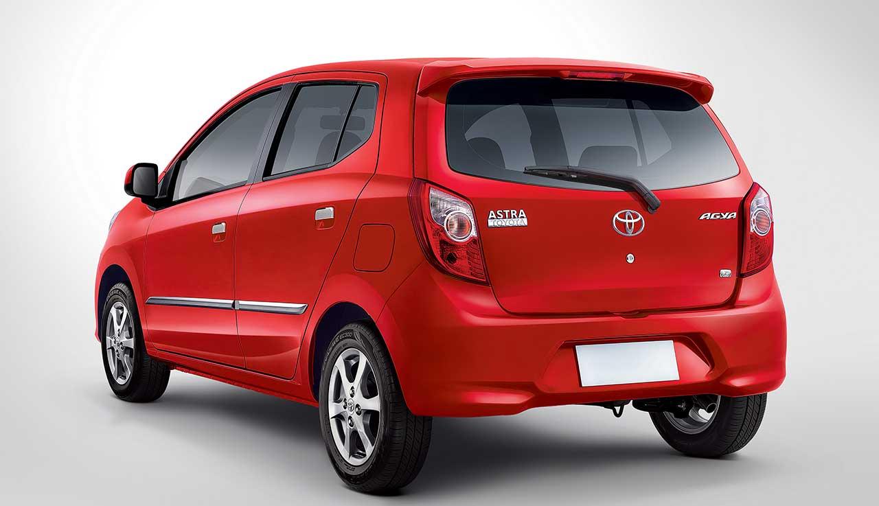 Tambah Wiper Belakang Harga Toyota Agya Naik 3 Juta