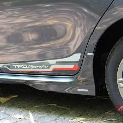 Bodykit All New Yaris Trd 2018 Side Skirt Toyota Sportivo 2014 Autonetmagz Review Dan Test Drive
