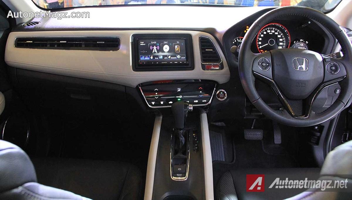 DashboardHondaHRVPrestige18L  AutonetMagz  Review