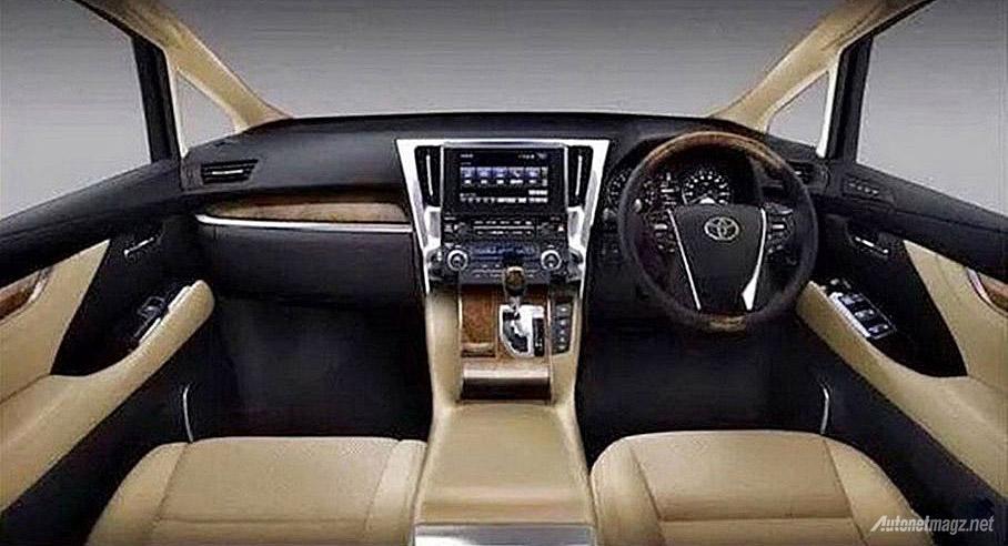 Interior Toyota Alphard 2015  AutonetMagz  Review Mobil