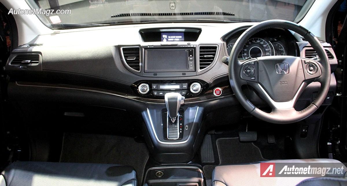InteriorHondaCRVFaceliftBaruIndonesia  AutonetMagz