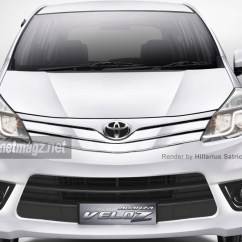 All New Toyota Avanza Veloz 2019 2015 Facelift Render Autonetmagz