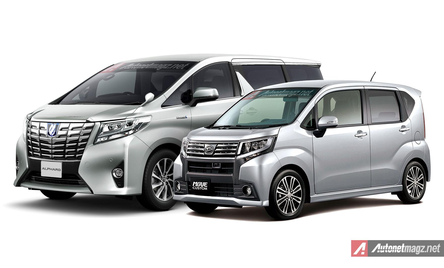 Daihatsu Move Custom 2015 Wajahnya Mirip Alphard Mini