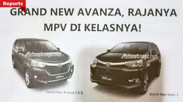 harga grand new avanza veloz all toyota camry thailand dan punya head unit baru 2015 facelift