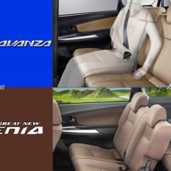 Perbedaan Grand New Avanza Dan Xenia Otr Great Headrest Tengah Berita