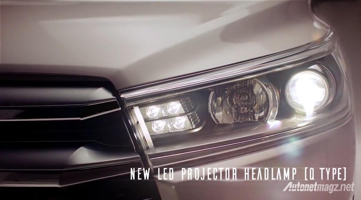 spesifikasi all new kijang innova reborn grand avanza tampak belakang ini dia deskripsi fitur dan fasilitas pada toyota projector led headlamp