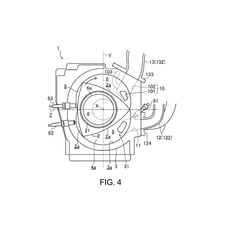 Paten Rancangan Mesin Rotary Mazda SkyActiv-R Muncul
